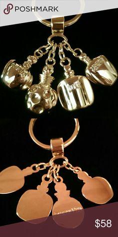 0b3762ef4e6f ❇EUC Dior Bag Charm Keychain✨ ❇Christian Dior key ring bag charm