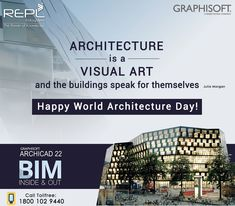 is a Visual Art and the buildings speak for themselves. Happy World Buildings, Software, Architecture, World, Happy, Design, Building Information Modeling, Arquitetura, Design Comics