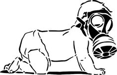 Free Image on Pixabay - Baby, Gas, Mask, Crawling, Infant Baby Gas Relief, Sick Building Syndrome, Gas Remedies, Venom Art, Street Art Banksy, Mask Images, F Pictures, Free Gas, Funny Shirts