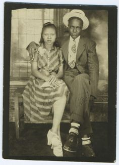 Harlem Renaissance stylish couple