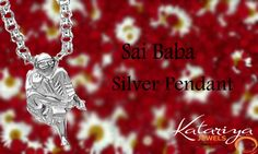 925 Sterling Silver Sai Baba Pendant Buy Now:http://buff.ly/1QQXYge COD Option Is Available With Free Shipping In India