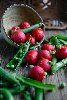 Radishes and Peas by Darren Muir | Stocksy United