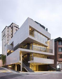 29 Asombrosas Fachadas de Edificios Modernos – Todo Fachadas