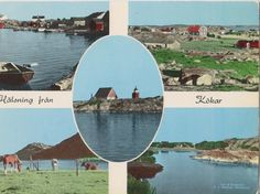 Postcard Ahvenanmaa/Åland Kökar, Finland, 1970 Baltic Sea, Open Water, Archipelago, Vintage Postcards, Finland, Surfboard, Coast, Vintage Travel Postcards, Surfboards