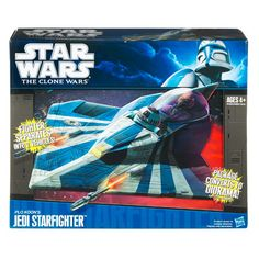 Product Detail View - Star Wars The Clone Wars Plo Koon's Jedi Starfighter