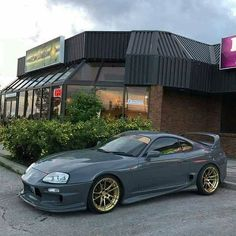 Toyota Supra in awesome rare color!You can find Toyota supra and more on our website.Toyota Supra in awesome rare color! Toyota Supra Mk4, Toyota Celica, Autos Toyota, Toyota Cars, Toyota Corolla, Mitsubishi Eclipse, Mitsubishi Lancer Evolution, Tuner Cars, Jdm Cars