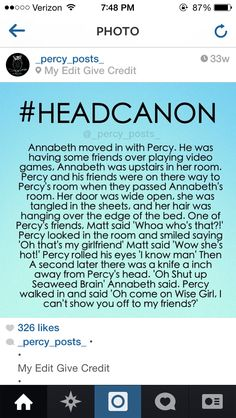 I can see Percy not even flinching, while his friends are looking at him and Annabeth with fear and amazement.