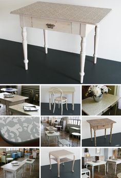 Tables Modern, Tables, Dining Table, Furniture, Vintage, Home Decor, Old Furniture, Table, Homes