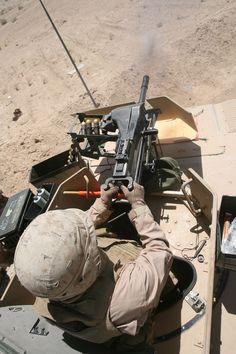 MK19 Grenade Launcher... in action.