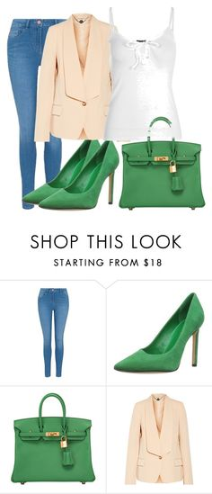 """""""hjghfgty"""" by v-askerova on Polyvore featuring мода, George, Nine West, Hermès, STELLA McCARTNEY и Boohoo"""
