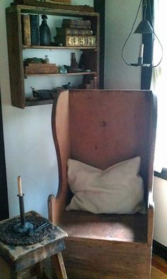 Love the old chair!