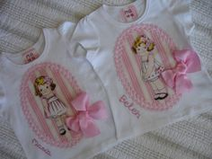 Camisetas amiga de Raquel 1 Toddler Fashion, Diy Clothes, My Girl, Baby Kids, Onesies, Girl Outfits, Sewing, Tees, Children