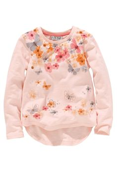Pink Flower Print Top (3mths–6yrs) from the Next UK online shop