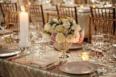 blush wedding centerpieces - Google Search