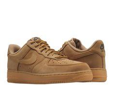 Nike Air Force 1  07 WB Flax Flax-Gum Wheat Men s Basketball Shoes c5c85e056