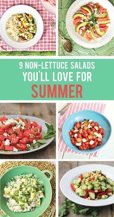 non-lettuce salads
