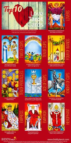 The origins of the Tarot are surrounded with myth and lore. The Tarot has been thought to come from places like India, Egypt, China and Morocco. Others say the Tarot was brought to us fr Tarot Decks, Love Tarot Card, Tarot Significado, Tarot Cards For Beginners, Tarot Card Spreads, Tarot Astrology, Online Tarot, Tarot Card Meanings, Tarot Readers