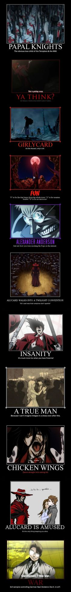 Collection of Hellsing memes