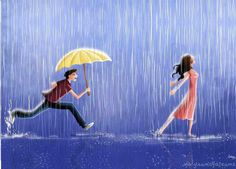 Dance with me in the rain, near the moon I only need dance with you and feel your heart near of my heart ♥