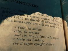Fare del sogno, l'atto. Gabriele D'Annunzio Common Quotes, Wise Quotes, Poetry Quotes, Book Quotes, Words Quotes, Inspirational Quotes, Sayings, Italian Phrases, Italian Quotes