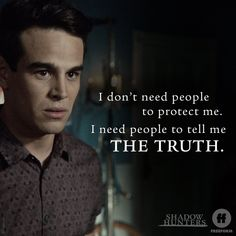 """S3 Ep5 """"Stronger Than Heaven"""" - Us too.  #Shadowhunters"""
