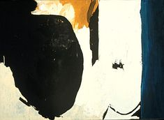 Robert Motherwell- this is a bit like blasphemy, but in my dream world I would have a Motherwell over my sofa