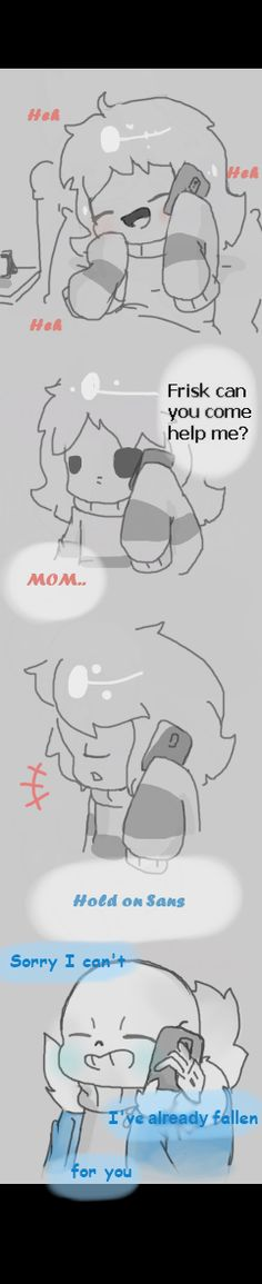 Yeah I put almot more work into this one took me like 3 hours I wanted to make it look pretty and stuff,this is like the first undertale comic thing I made in my drawing book it's not that good but...