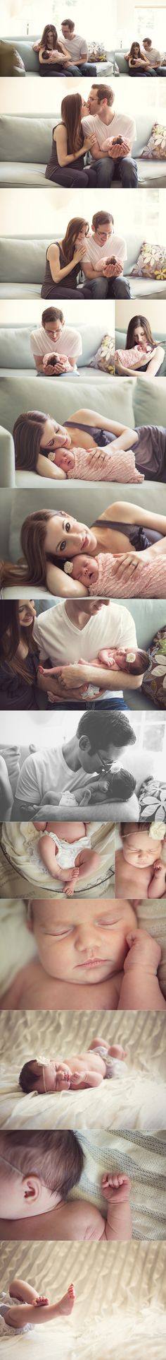 Lifestyle Newborn--exactly what i want our newborn pictures to be like!