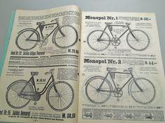 Fahrrad Katalog - Multiplex-Fahrrad-Industriehaus ca.1930 Nähmaschine Grammophon | eBay