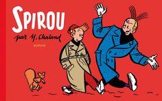 """""""Spirou"""" por Yves Chaland. Primera mitad de la década de los 80."""