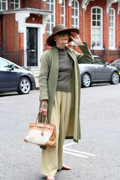 ADVANCED STYLE: Gitte Lee Great Style has no age