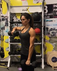 """11.6k Likes, 298 Comments - Alexia Clark (@alexia_clark) on Instagram: """"Not your average upper body workout! This ones is going to rock your shoulders!  1. 12 reps  2. 10…"""""""