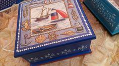 Caja de te#hombre..marinero