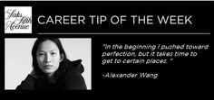 Career Inspiration from #AlexanderWang