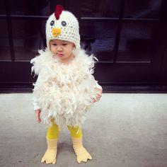 DIY little chicken costume