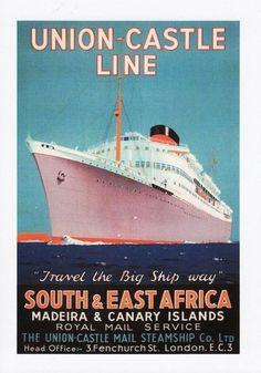 Union Castle Line East Africa