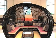 What was I thinking? I need the big family sized outdoor wicker egg nest for $15,000.000. My parents paid 19K for their first house in 1972. Just sayin'