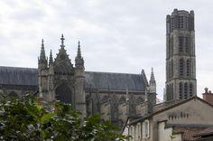 La cathédrale de Limoges #kathedraal #Limousin #France #architecture