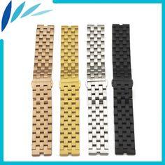 a24c22ec6e7 Stainless Steel Watch Band for Motorola Moto 360 1 Gen 2014 Strap Wrist  Loop Belt Bracelet Black Rose Gold Silver - Dream Jewelry Place