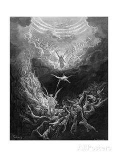 The Last Judgment reproduction procédé giclée par Gustave Doré sur AllPosters.fr