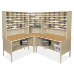 Mailroom 84 Slot Corner Literature Organizer  //Price: $ & FREE Shipping //    #office #officelife #officeview #officeworks #myoffice #officegirl #officetime #officework