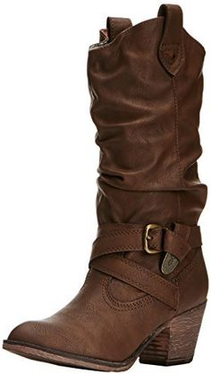Rocket Dog Womens Sidestep Cowboy Boots