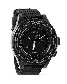 A Gift for The Frequent Flyer... Roaming a little further than home? No problem, the Nixon Passport watch has been designed to see you there and back. Shop today! Free shipping through 12/22/15.
