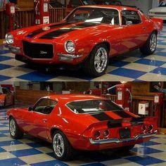 1971 Chevrolet Camero Z28.Classic Car Art&Design @classic_car_art #ClassicCarArtDesign