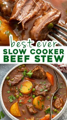 Crockpot Dishes, Crock Pot Cooking, Beef Dishes, Cooking Recipes, Cooking Beef Stew, Beef Stee Crockpot, Beef Crock Pots, Crockpot Beef Stew Recipe, Slowcooker Beef Stew