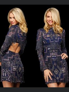 Scarlett Rose, Couture Fashion, Dresses With Sleeves, Sherri Hill, Long Sleeve, Casual, High Class Fashion, Sleeve Dresses, Long Dress Patterns