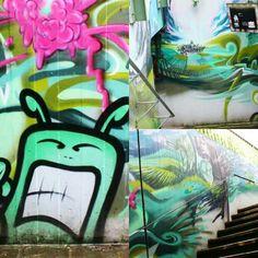 Rheingau Graffiti-Walls !! Amazing Teen-Work