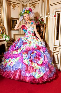 It's like Cuba threw up all over Mexico during a flamenco-themed party, yet it's gorgeous!