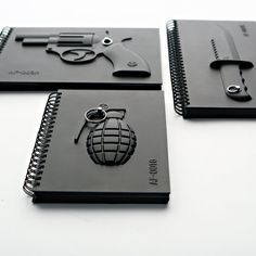 Armed Notebook - Knife