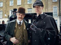 TVシリーズ『シャーロック』特別版として、カンバーバッチが原作本来のヴィクトリア朝時代にタイムワープした!? 最新作『SHERLOCK/シャーロック 忌まわしき花嫁』は現在TOHOシネマズ新宿ほかで公開中。いくつもの原作をなぞらえた場面が組み込まれ、シャーロキアンの満足度も高い作品です。原題:Sherlock:The Abominable Bride出演:ベネディクト・カンバーバッチ、マーティン・フリーマン、アマンダ・アビントンほか 監督:ダグラス・マッキノン、エグゼクティブ・プロデューサー:共同製作:脚本:スティーヴン・モファット/マーク・ゲイティス 配給:KADOKAWA 提供 KADOKAWA/ NHKエンタープライズ © 2015 Hartswood Films Ltd. A Hartswood Films production for BBC Wales co-produced by Masterpiece. Distributed by BBC Worldwide Ltd.